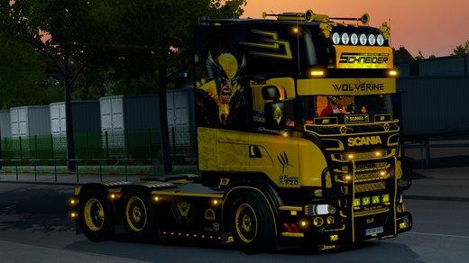 Scania V8K-Wolverine R Series