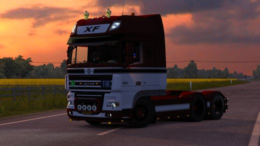 DAF XF105 vad&k