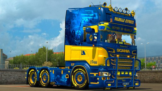 Scania V8K-Blaine R Series