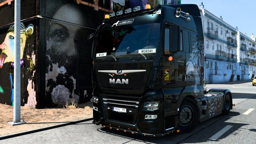 MAN TGX Euro 6 (MADster)